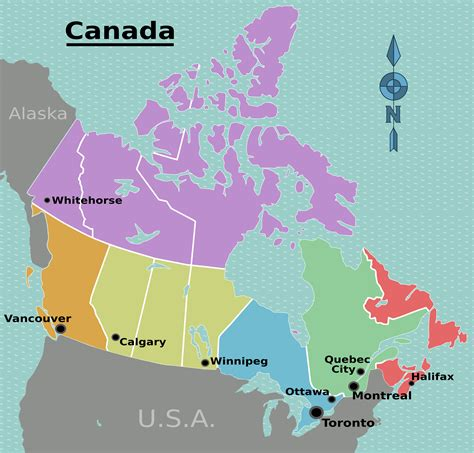 regional map of canada file canada regions map png wikimedia commons