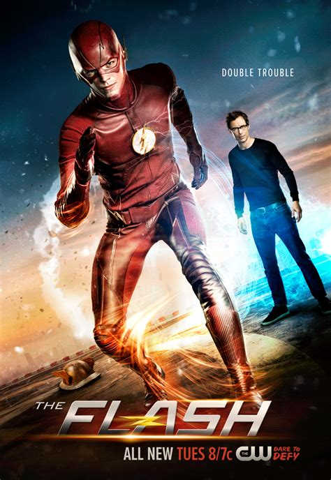 The Flash 2 the flash dr will give zoom trouble in new season 2 poster