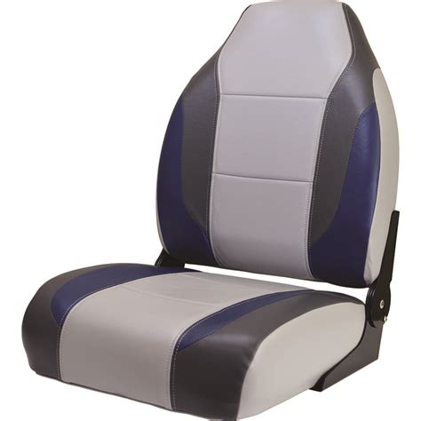 fitted back to back boat seat covers 8wd717 840 premium bass boat high back seat high backed