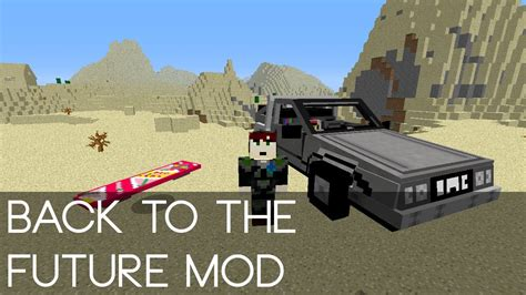how to make a back to the future flux capacitor minecraft back to the future mod spotlight
