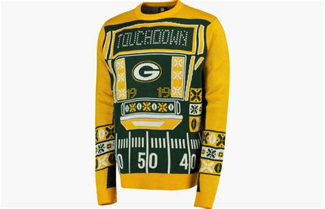 green bay packers light up hat 14 best ugly sweaters suits sport coats to wear this