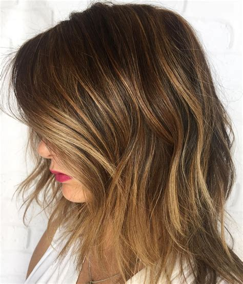 low lights on black shoulder length hair 45 light brown hair color ideas light brown hair with