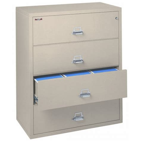 Fireproof 4 Drawer File Cabinet by Fireking 4 4422 C 4 Drawer Lateral Filing Cabinet Ul 1