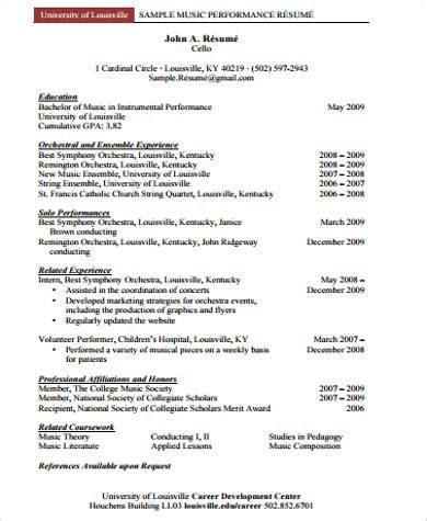 performance resume template 100 images resume