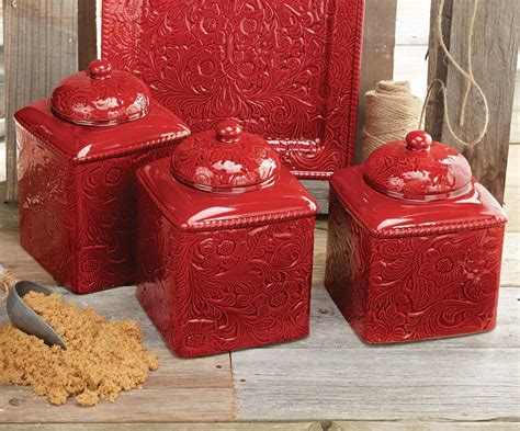 western kitchen canister sets canister set 3 pcs
