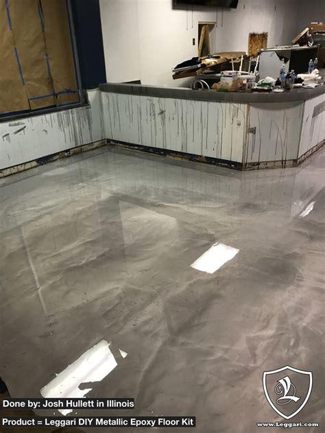 diy metallic epoxy floor coating kits leggari