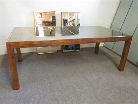 beautiful vintage henredon mirror top dining by