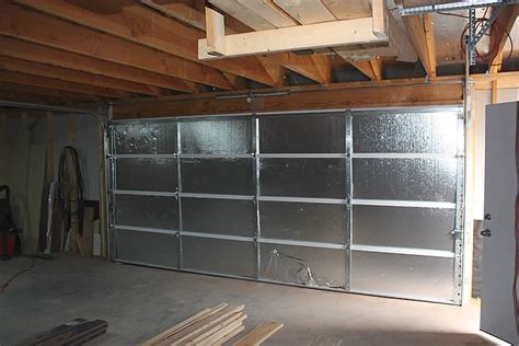 garage door insulation ideas garage interest how to insulate a garage ideas do i need
