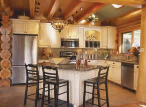 Log Home Kitchen Cabinets 25 Best Ideas About Log Home Kitchens On Modern Microwave Ovens Cabin Kitchens And