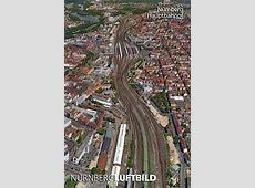 Nürnberg Hauptbahnhof, Luftaufnahme 2017 Kalender