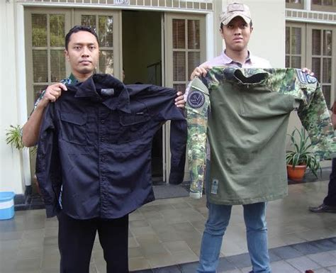 Seragam Airsoft Gun seragam militer buatan mahasiswa ugm tembus pasar ekspor
