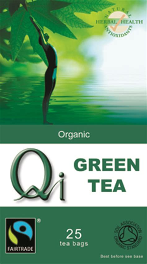 Qi Green Tea Detox by Universal Fair Trade Coffee Tea And Foods