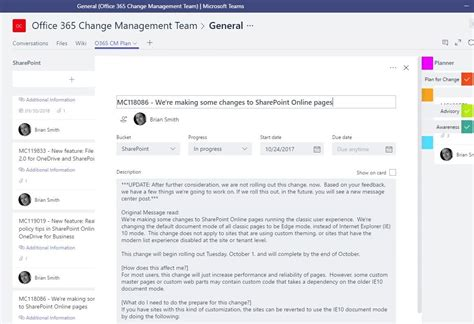 Office 365 Turn Conversation Change Management For Office 365 The Conversation