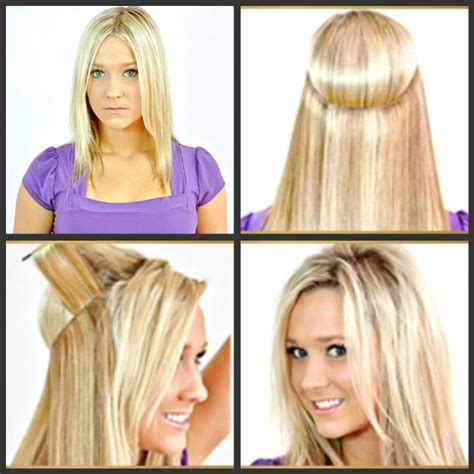 are halo crown extentions good for fine hair on top halo flip in hair extensions