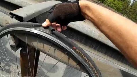 road bike tire explodes youtube