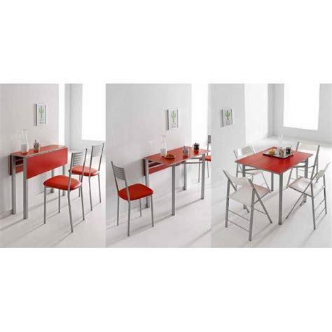 mesa de alas abatibles  poco fondo  cocinas