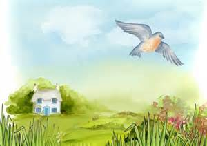Country Cottage Collections by Clipart Tranquil Scenery
