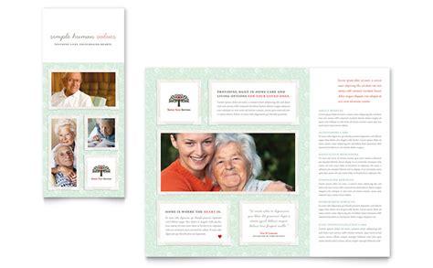 Senior Care Services Tri Fold Brochure Template Word Publisher Publisher Tri Fold Brochure Templates Free