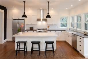 White Solid Surface Kitchen Countertops Grey And Aspen White Solid Surface Kitchen