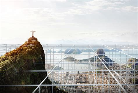 architetture citt visioni riflessioni rio de inverso cityvision competition entry buro ad spectacle archdaily