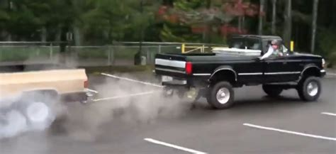 This Ford vs. Chevy Tug of War Ends in a Lopsided Victory