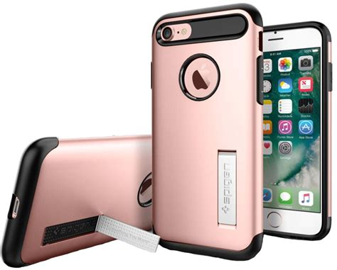 Sgp Slim Armor Tpu With Kickstand For Iphone 6 Plus spigen iphone 8 7 slim armor with kickstand tbooth