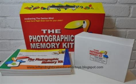 left and right brain education toys the photographic