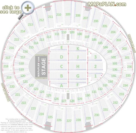 Secc Floor Plan The Forum Inglewood Seat Numbers Detailed Seating Chart