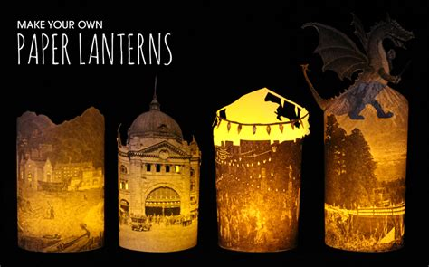 How To Make Lanterns From Paper - state library how to make a paper lantern