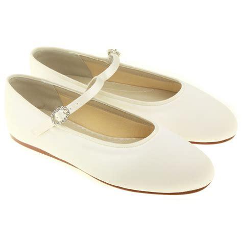 ivory flower shoes uk abigail infants bridesmaid or flowergirl ivory shoes