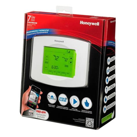home depot honeywell thermostat wi fi home free engine