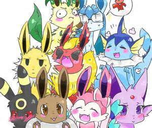the eeveelutions friends pok 233 charms