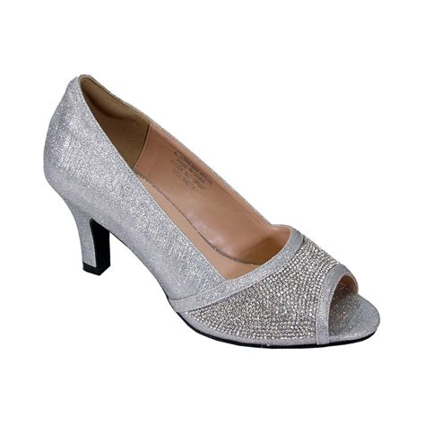 floral noemi women wide width open toe rhinestone slip