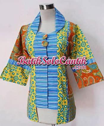 Dress Sogan Raline 03 Lengan batik modern lengan panjang daniyanti