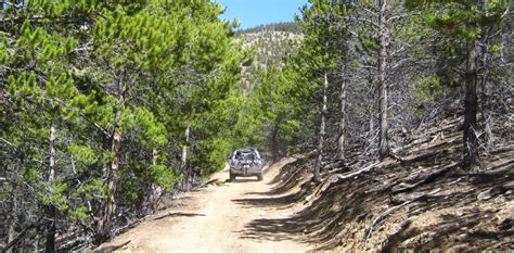 jeep road trails colorado jeep trail 1961 cj5 jeep on a colorado jeep road