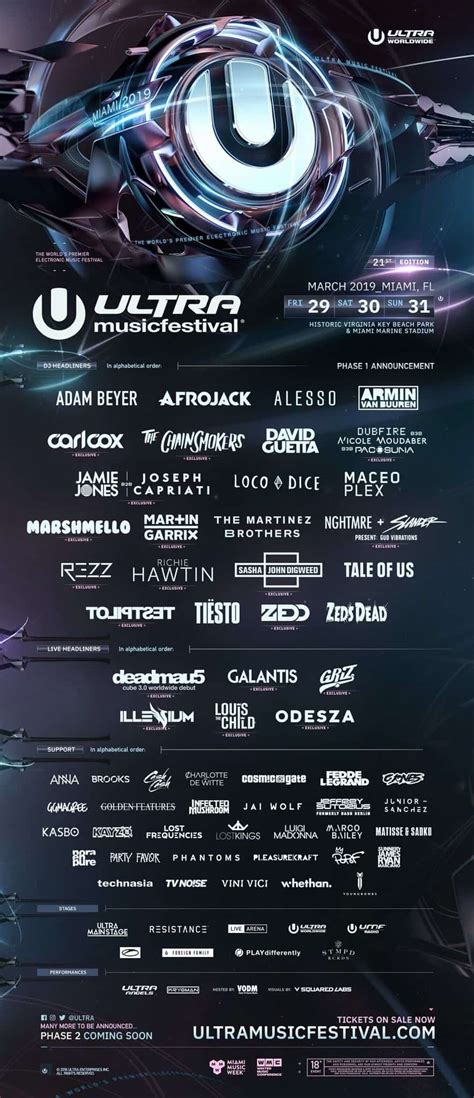 ultra south africa lineup 2019 mr cape town ultra 2019 lineup announces deadmau5 martin garrix and more
