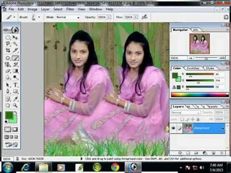 adobe photoshop video tutorial in bangla photoshop 7 tutorial bangla part 2 graphic design photo