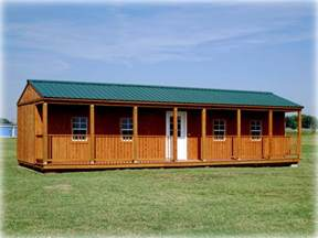 16 X 24 Barn Plans Side Porch Cabins East Carolina Unlimitedeast Carolina