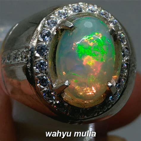 Harga Batu Kalimaya Pelangi batu cincin kalimaya rainbow jarong asli kode 935