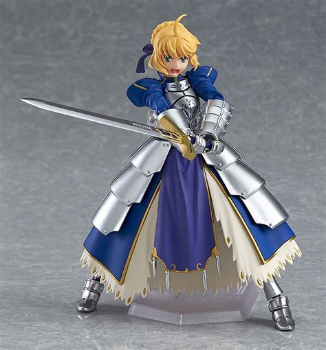 New Anime Fate Stay Blue Saber 2 0 Figma 227 Pvc Figure 6 saber 2 0 re run fate stay figma figure