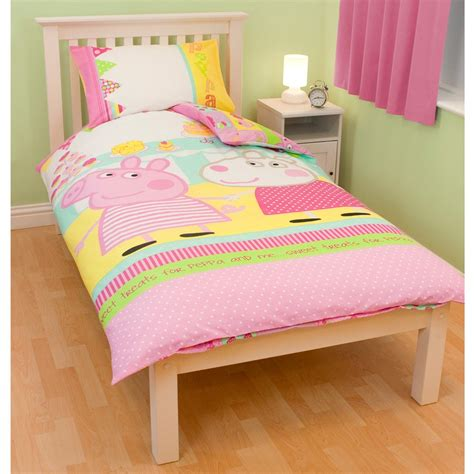bedding accessories official peppa pig duvet covers bedding bedroom accessories free uk p p ebay