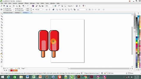 tutorial membuat vector tutorial membuat vector ice stick youtube
