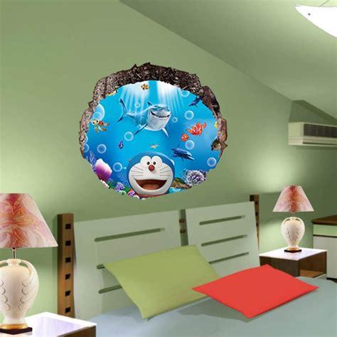 Wallpaper Sticker Doraemon 2 doraemon 3d waterproof wallpaper 60cmx60cm