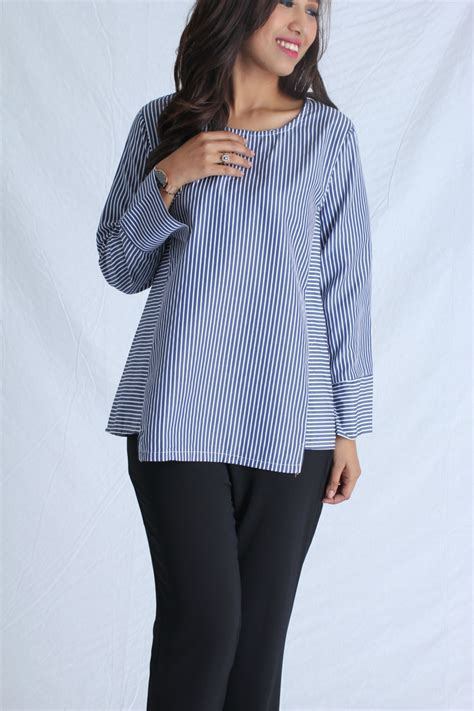 Zoey Tunik Baju Muslim blouse terkini muslimah the blouse