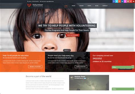 drupal themes nonprofit 19 charity drupal themes free website templates