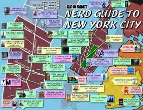Map Of New York City Attractions by Suramya S Blog 187 A Nerdy Guide To New York City