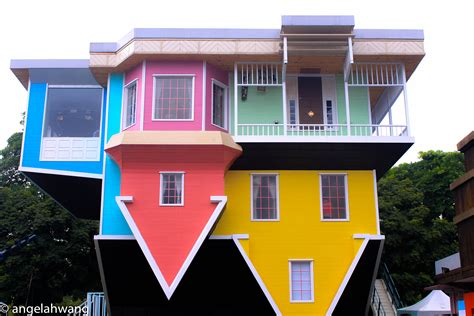 up side down house upside down house attraction upside down house stock image upside down house phuket