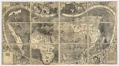 First World Map 12 maps that changed the world the atlantic