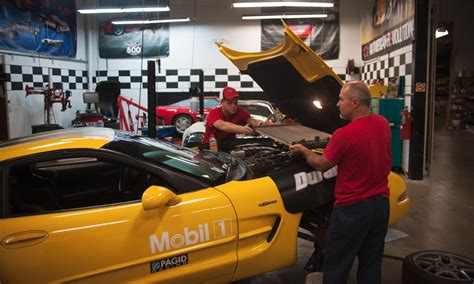 corvette museum offers look at vehicle maintenance and