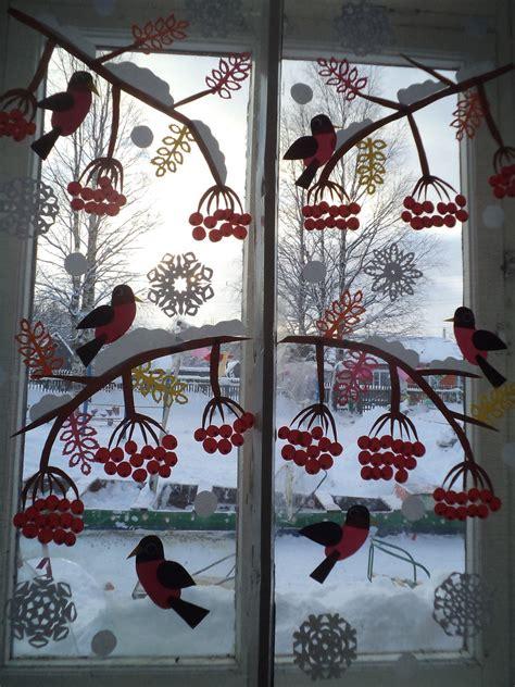 Fensterdeko Weihnachten Winter by Winterfenster Kindergarten Raumgestaltung